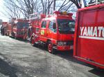 神奈川県大和市の消防車両
